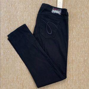 Forever 21 bwu black skinny bootcut jeans